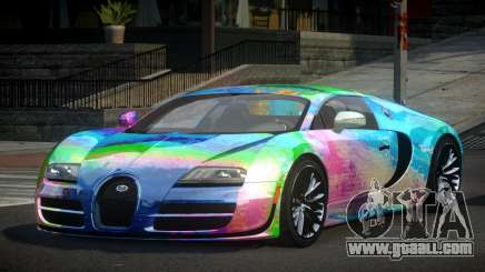 Bugatti Veyron PSI-R S2 for GTA 4