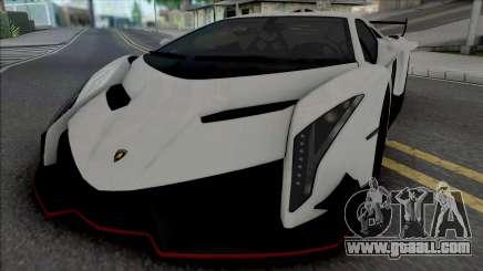 Lamborghini Veneno (SA Lights) for GTA San Andreas