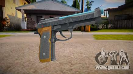 RE2: Remake - Samurai Edge Colt v4 for GTA San Andreas