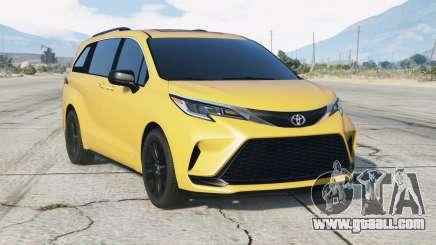 Toyota Sienna XSE 2021〡add-on for GTA 5