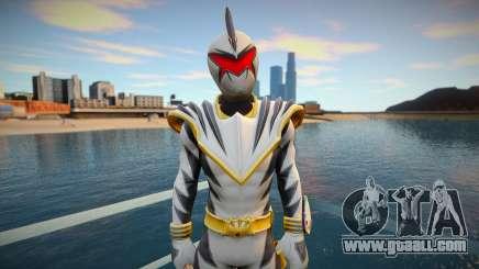 White Dino Ranger for GTA San Andreas