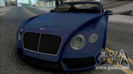 Bentley Continental GT V8 for GTA San Andreas