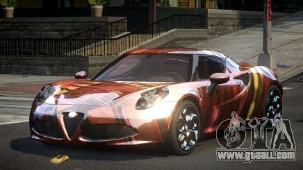 Alfa Romeo 4C U-Style S6 for GTA 4