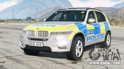 BMW X5 (F15) 2015〡Metropolitan Police for GTA 5
