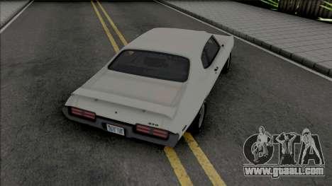 Pontiac GTO 1969 [HQ] for GTA San Andreas