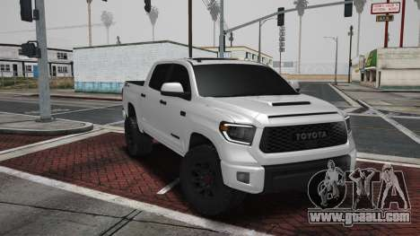 2021 Toyota Tundra TRD PRO - End of the Road for GTA San Andreas