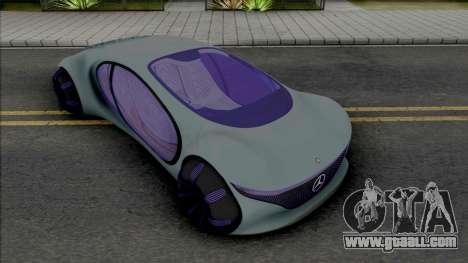 Mercedes-Benz Vision AVTR [HQ] for GTA San Andreas