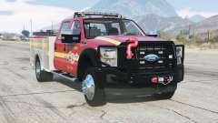 Ford F-450 Super Duty Crew Cab Utility Fire Truck 2013 for GTA 5