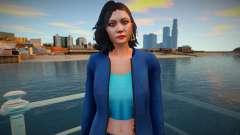 GTA Online Skin Ramdon Female Asian 1 Fashion v1 for GTA San Andreas