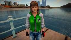Dead Or Alive 5 - Hitomi (Costume 2) v6 for GTA San Andreas