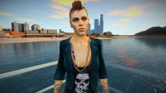 Skin Clara Lille Watch Dogs for GTA San Andreas