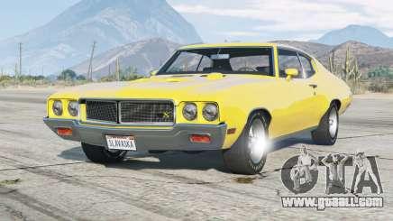 Buick GSX hardtop coupe 1970 v1.1 for GTA 5