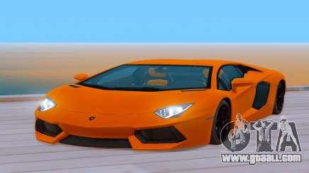 Lamborghini Aventador (Cheetah) for GTA San Andreas