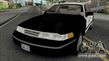 Ford Crown Victoria 1997 CVPI LAPD GND for GTA San Andreas