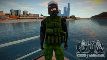 Improved Swat skin for GTA San Andreas