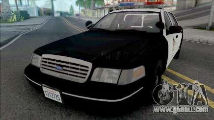 Ford Crown Victoria 1998 CVPI LAPD for GTA San Andreas