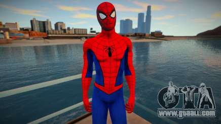 Spidey Suits in PS4 Style v8 for GTA San Andreas