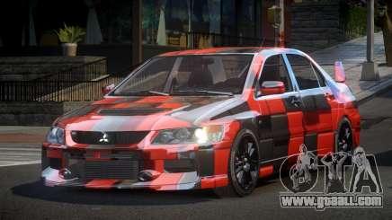 Mitsubishi Evo IX BS-U S1 for GTA 4