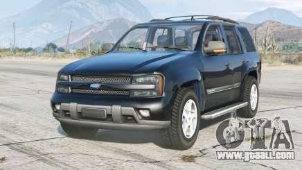 Chevrolet TrailBlazer 2001 v2.0 for GTA 5