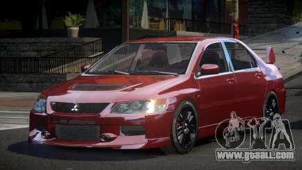 Mitsubishi Evo IX BS-U for GTA 4