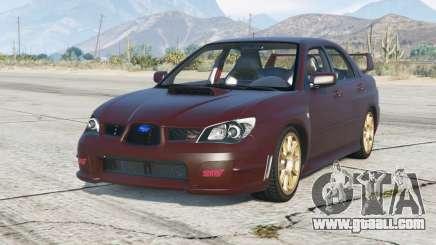 Subaru Impreza WRX STi (GDB) 2005 for GTA 5
