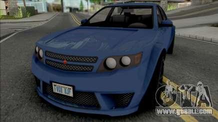 Cheval Fugitive [SA Plate] for GTA San Andreas