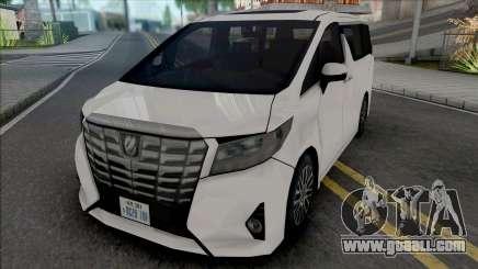Toyota Alphard For Gta San Andreas