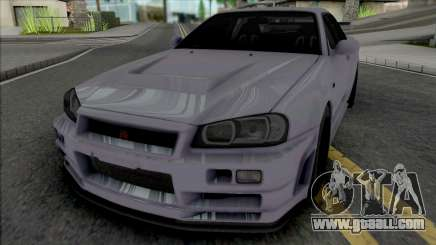 Nissan Skyline GT-R Nismo S-Tune [Fixed] for GTA San Andreas