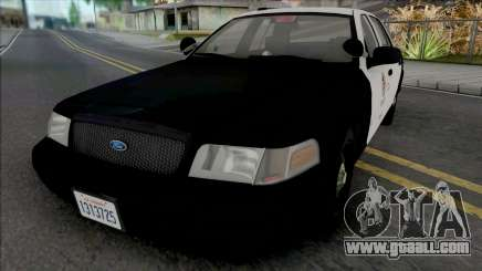 Ford Crown Victoria 2011 CVPI LAPD GND for GTA San Andreas