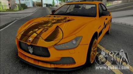 Maserati Ghibli III Taxi for GTA San Andreas