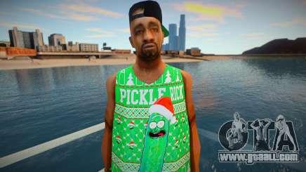 Pickle Rick for GTA San Andreas