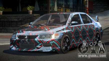 Mitsubishi Evo IX BS-U S2 for GTA 4
