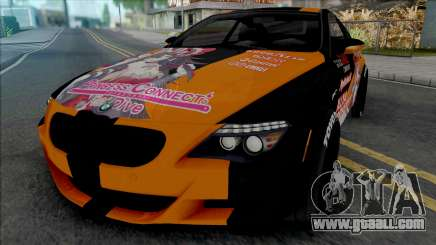 BMW M6 Itasha Princess Connect Re Dive for GTA San Andreas