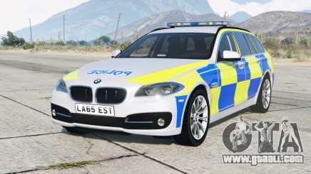BMW 530d Touring (F11) 2013〡British Police for GTA 5