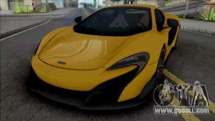 McLaren 675LT Spider 2016 for GTA San Andreas