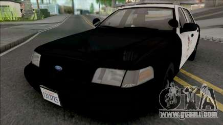 Ford Crown Victoria 1999 CVPI LAPD GND for GTA San Andreas