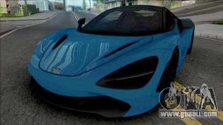 McLaren 720S Spider 2019 for GTA San Andreas