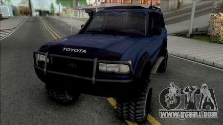 Toyota Land Cruiser 80 Turbo for GTA San Andreas