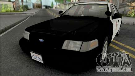 Ford Crown Victoria 1999 CVPI LAPD GND v2 for GTA San Andreas