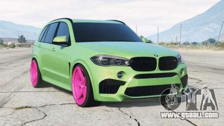 BMW X5 M (F85) 2015〡add-on for GTA 5