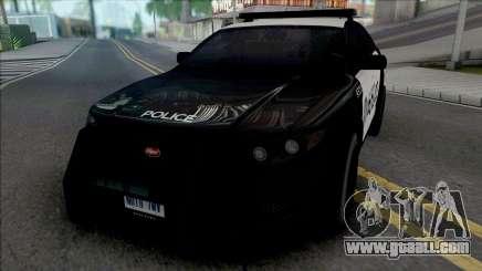 Vapid Torrence Police Las Vanturas v2 for GTA San Andreas