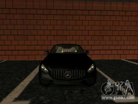 Mercedes-Benz S63 AMG (W222) coupe for GTA San Andreas