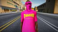 Ballas 1 - Trasher for GTA San Andreas