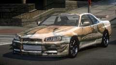 Nissan Skyline R34 PS-I S10 for GTA 4