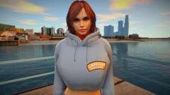 Katarina Alves Casual V1 DLC Los Santos Tuners 1 for GTA San Andreas