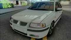 Ikco Samand LX White