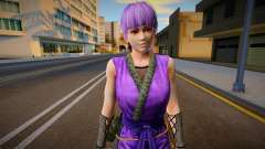 Dead Or Alive 5 - Ayane (Costume 2) 6 for GTA San Andreas
