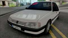 Peugeot 405 GLX (Open Trunk)