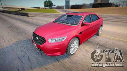 2013 Ford Taurus Civil (Low Poly) for GTA San Andreas