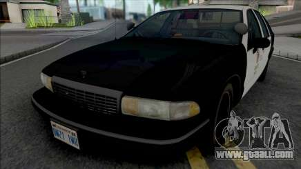Chevrolet Caprice 1993 LAPD GND for GTA San Andreas